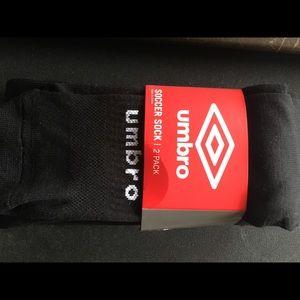 Men's 2 Pair bundle -Umbro Soccer Socks